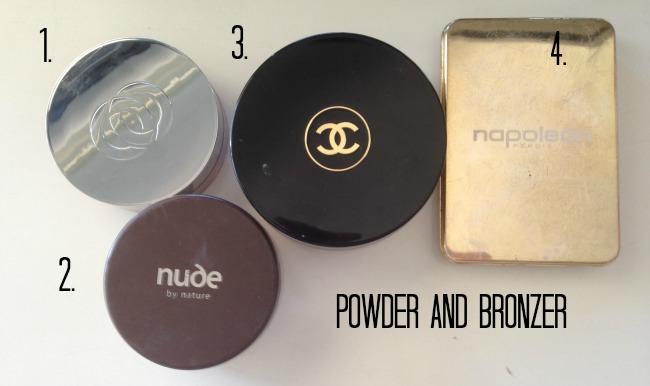 powder and bronzer