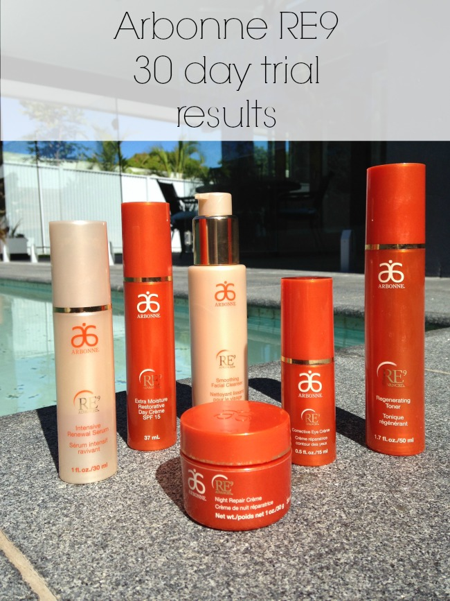 Beauty: My 30 Day Arbonne RE9 Trial Feedback | Iris may Style