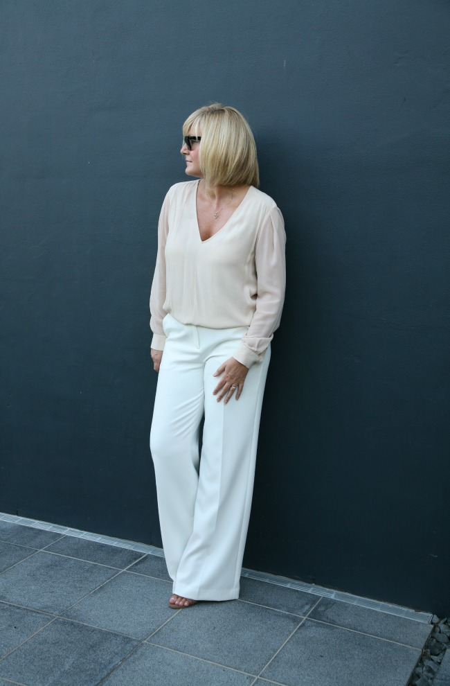 What I Wore: Wide Leg Trouser