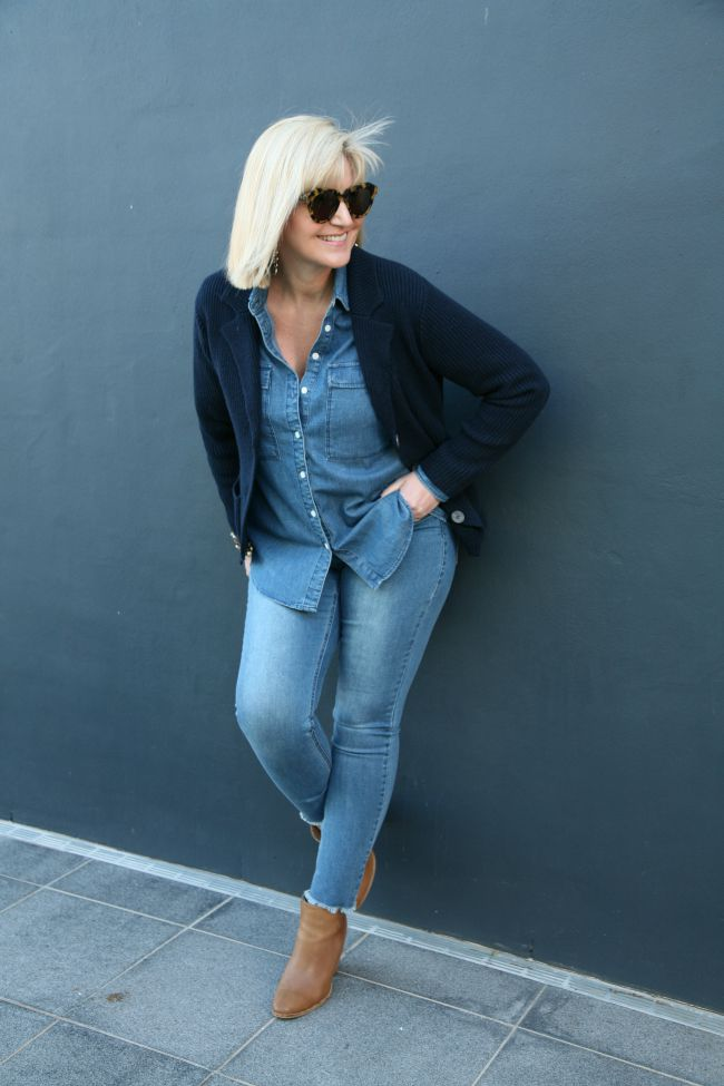 Double Denim and Woolies