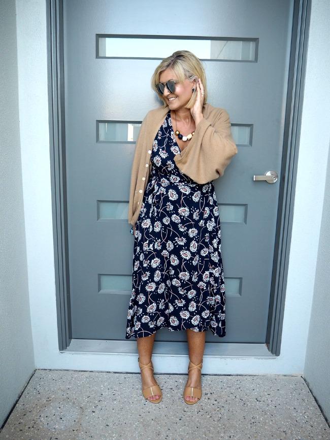 How to style a wrap dress three ways