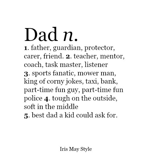 My Dad. My Hero. My Trip.