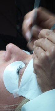 Eyelash Extensions Cure Hooded Eyes